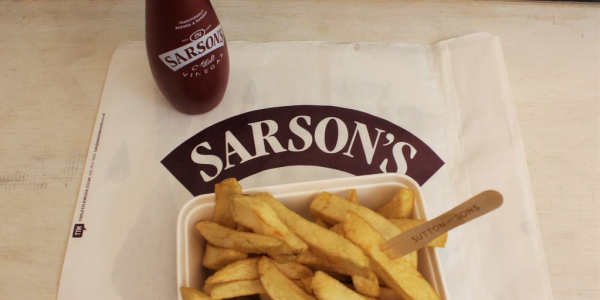 Vinegar or salt on chips first? Now you don't need to worry because chips are getting pre-pickled!