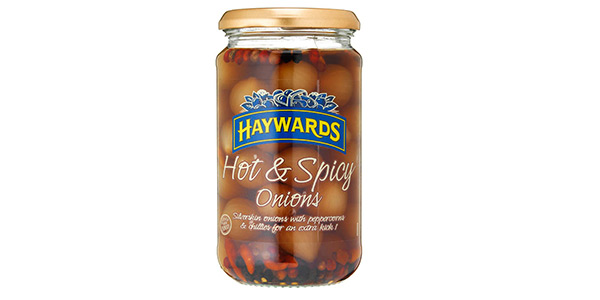 Spice Up Your Mealtimes With Haywards Hot & Spicy Pickled